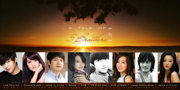 A Tale of Three Brothers: A Lee Min Ho ~ Rainie Yang Dream